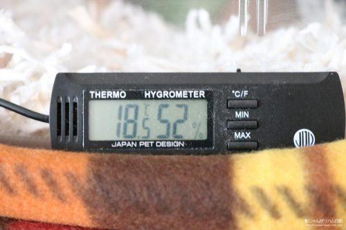 ハムスターの冬・防寒対策。断熱材スタイロフォームとマルチパネルヒーター